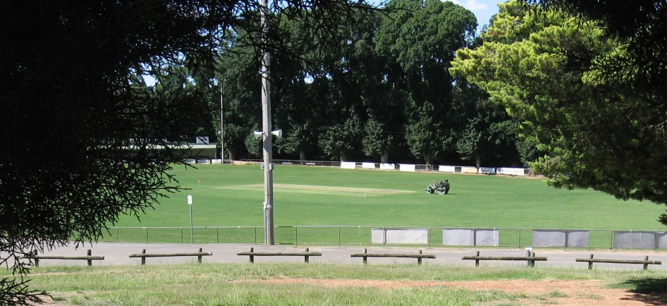 Image: Camp Reserve Sports Oval  Link to child page: Sports reserves