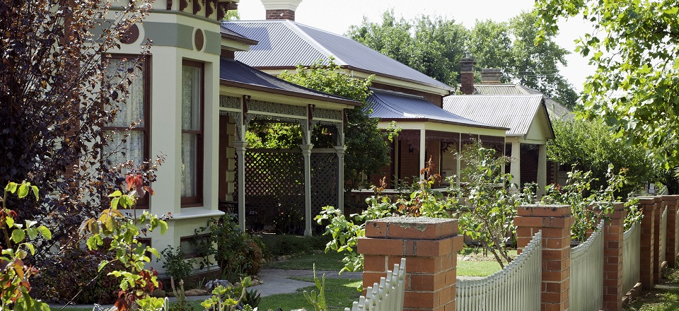 Image: Heritage houses in Castlemaine  Link to child page: Heritage strategy