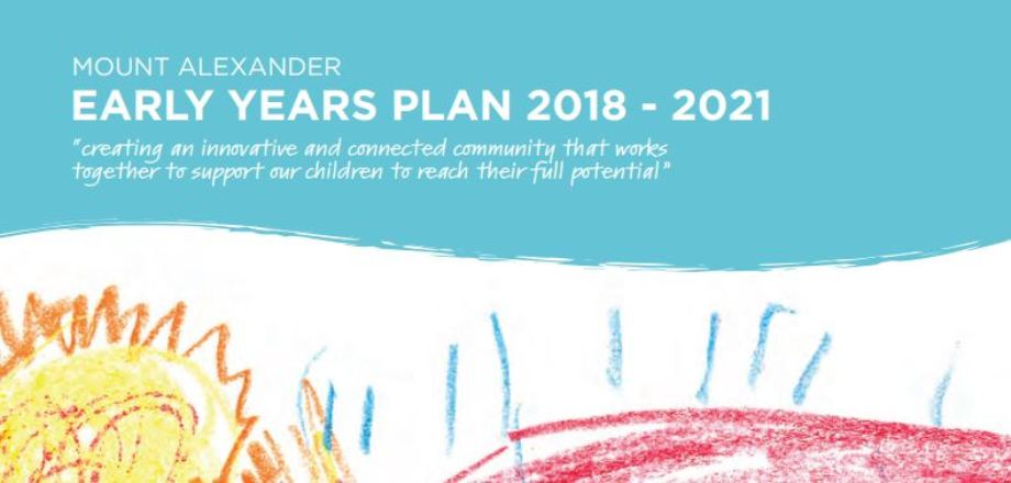 Image: Early Years Plan  Link to child page: Mount Alexander Early Years Plan