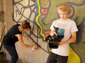 Image: Sk8 Art documentary  Link to child page: Supporting our arts