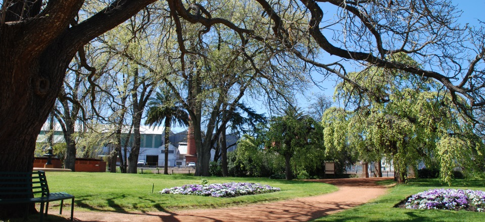 Image: Castlemaine Botanical Gardens image  Link to child page: Parks and gardens