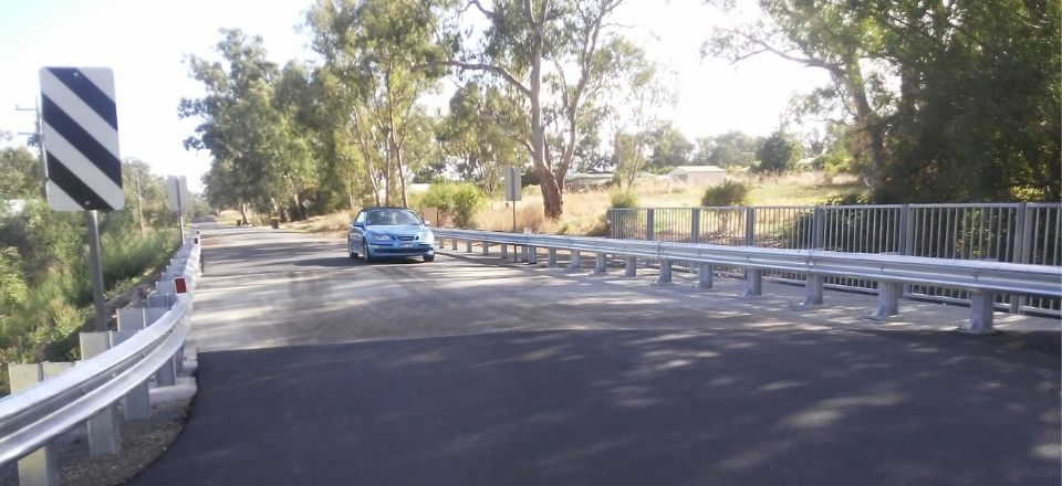 Works underway to improve Eagles Road bridge in Harcourt are now complete.