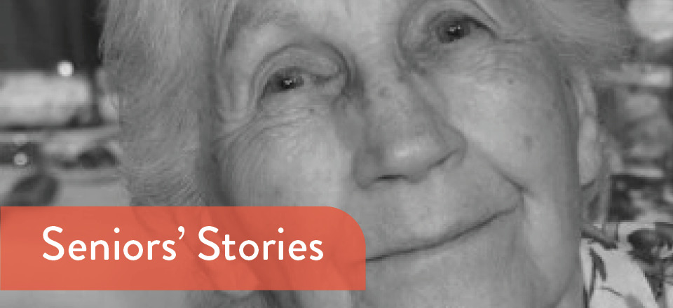 Image: Seniors Stories - Carlyn McGufficke  Link to child page: Seniors' Stories